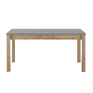 FLY-table rectangulaire avec allonge gris/bois