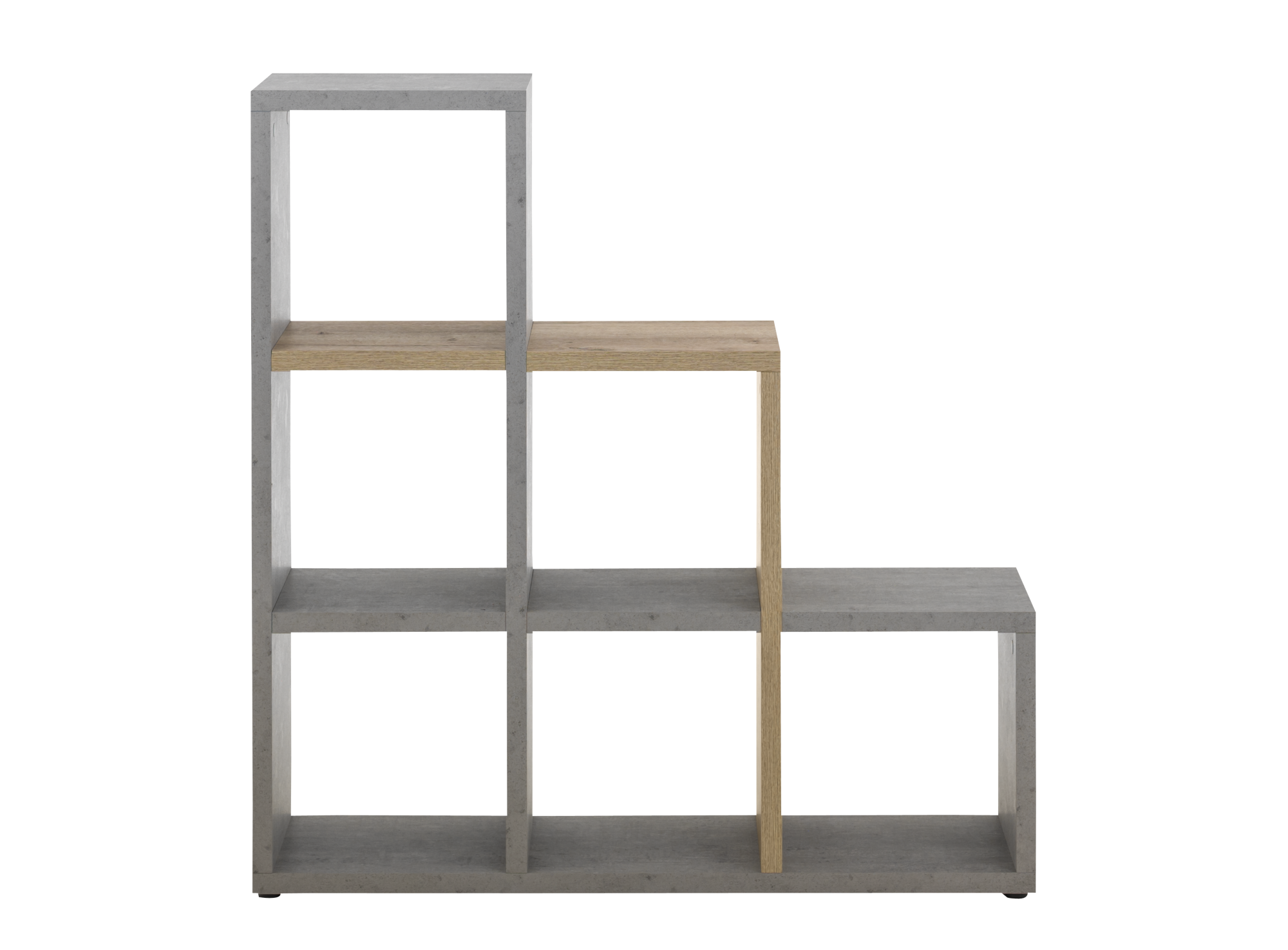 etagere escalier beton bois fly. Black Bedroom Furniture Sets. Home Design Ideas