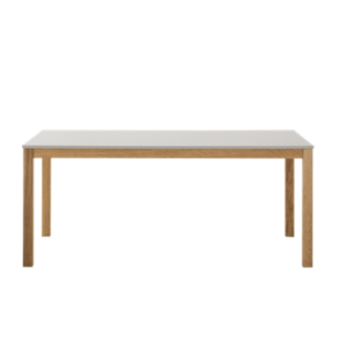 FLY-table l180 cm gris/chene