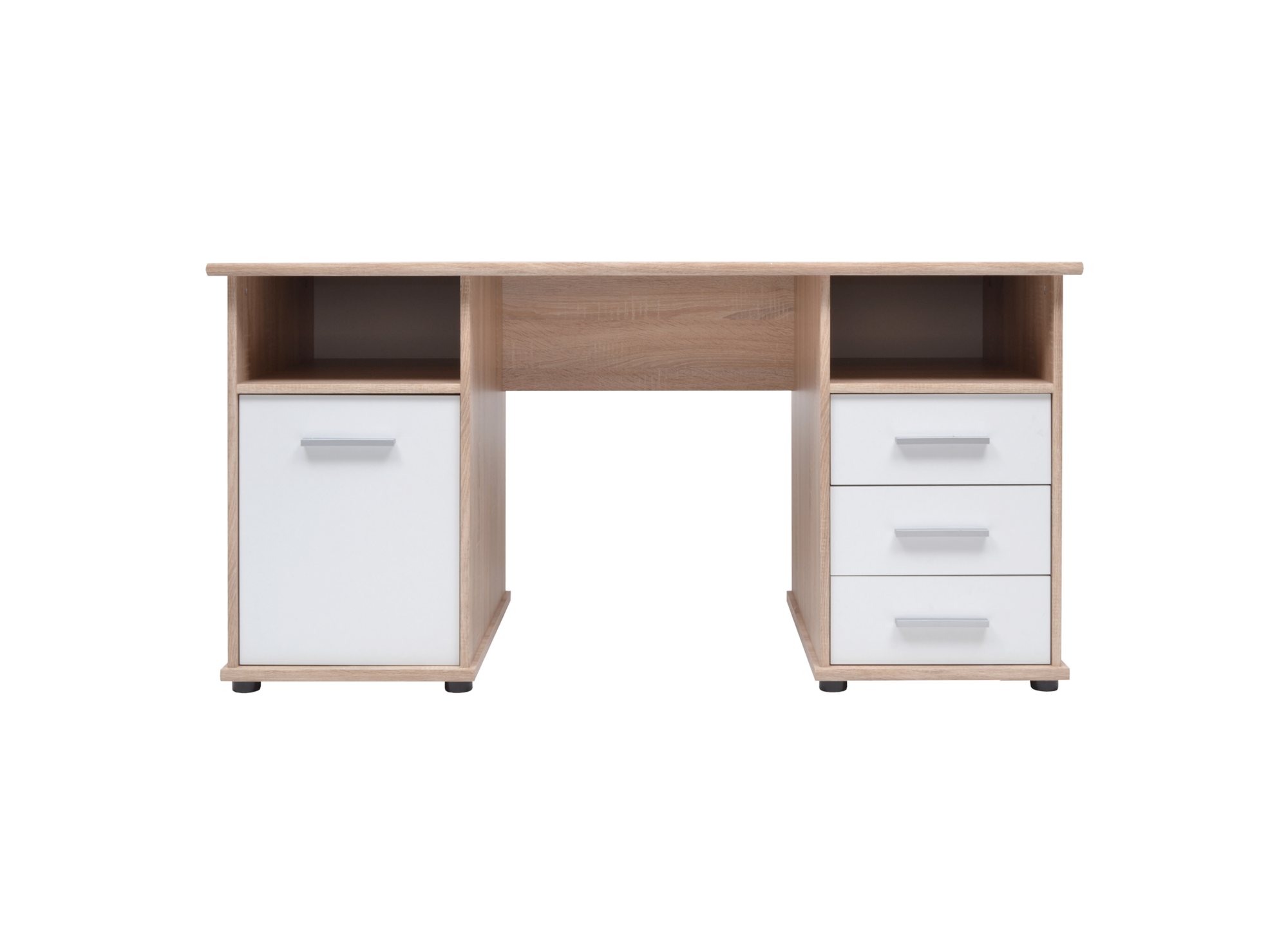 bureau chaine sonoma blanc fly. Black Bedroom Furniture Sets. Home Design Ideas