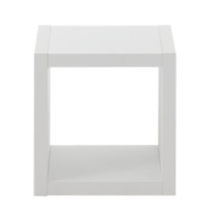 FLY-etagere 1 niche blanche