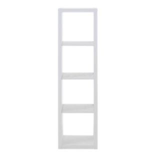 FLY-etagere 1x4 niches blanche