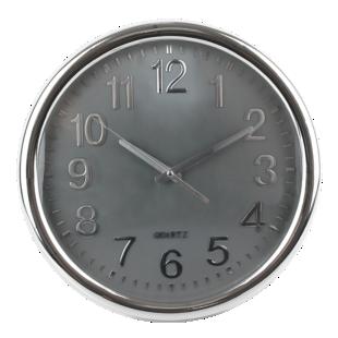 FLY-horloge d35cm gris