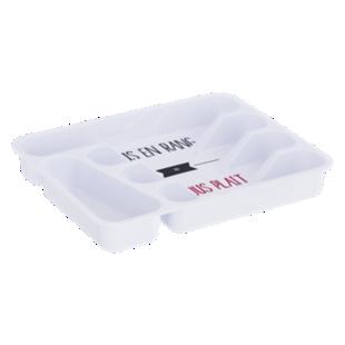 FLY-range couverts 32.8x26.1cm blanc