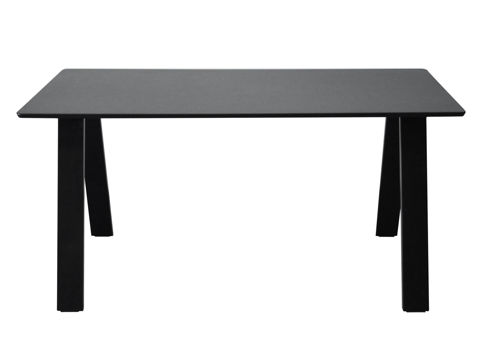 table rectangulaire noire table table chaise meuble fly. Black Bedroom Furniture Sets. Home Design Ideas