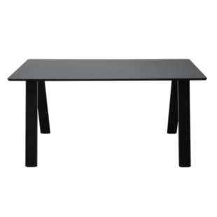 FLY-table rectangulaire noire