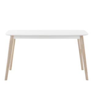 FLY-table l140 cm blanche