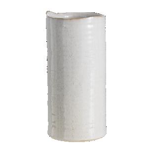 FLY-vase h23cm en ceramique beige