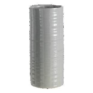 FLY-vase h30.7cm en ceramique gris