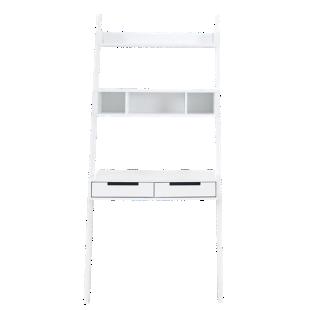 FLY-bureau / etagere coloris blanc