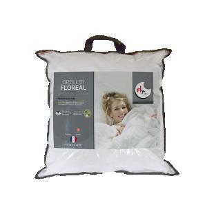 FLY-lot de 2 oreillers confort moelleux 60x60 cm