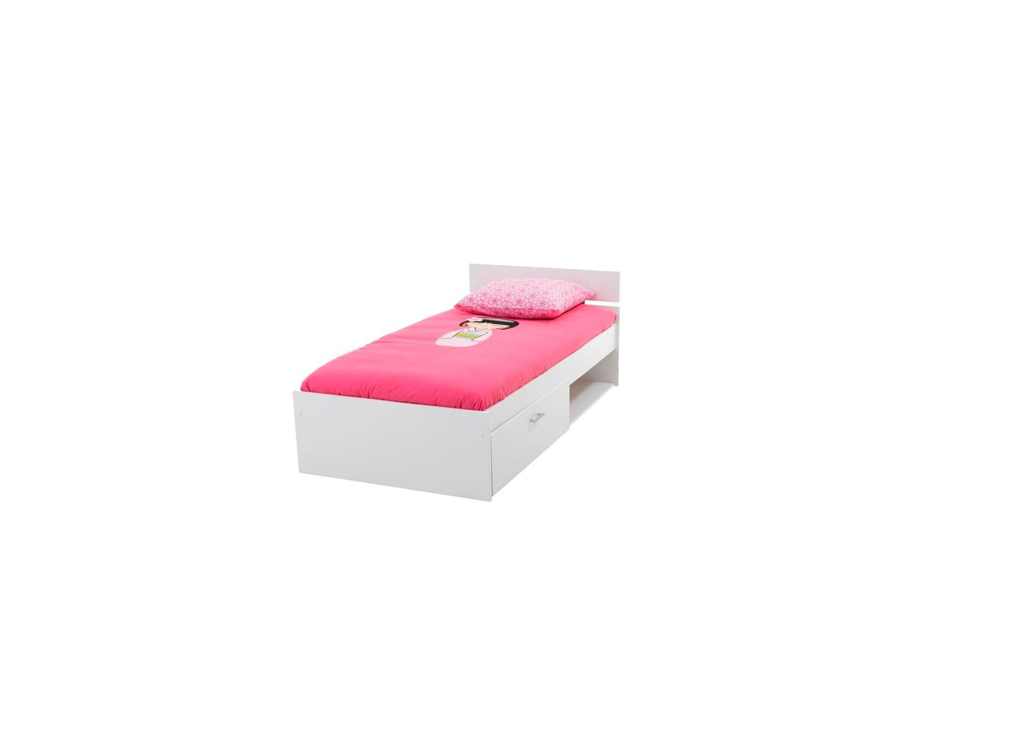 lit tiroir enfant blanc fly. Black Bedroom Furniture Sets. Home Design Ideas