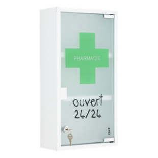 FLY-armoire pharmacie 25x48cm