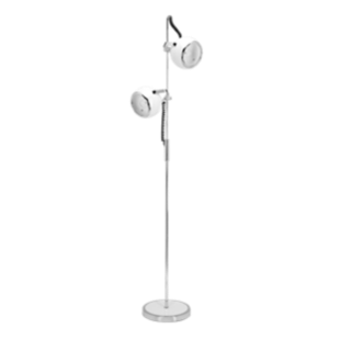FLY-lampadaire 2 lampes d25 blanc