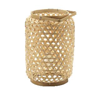 FLY-lanterne artisanale bambou d27 h38  naturel