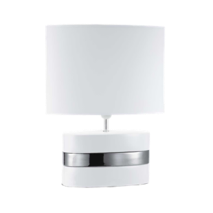 FLY-lampe a poser ceramique h54 blanc