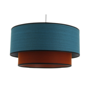FLY-suspension coton d38 turquoise/oraange