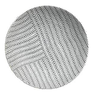 FLY-assiette plate d27cm blanc