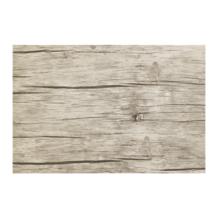 FLY-set table 45x30cm effet bois fonce