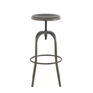 FLY-tabouret de bar a vis metal