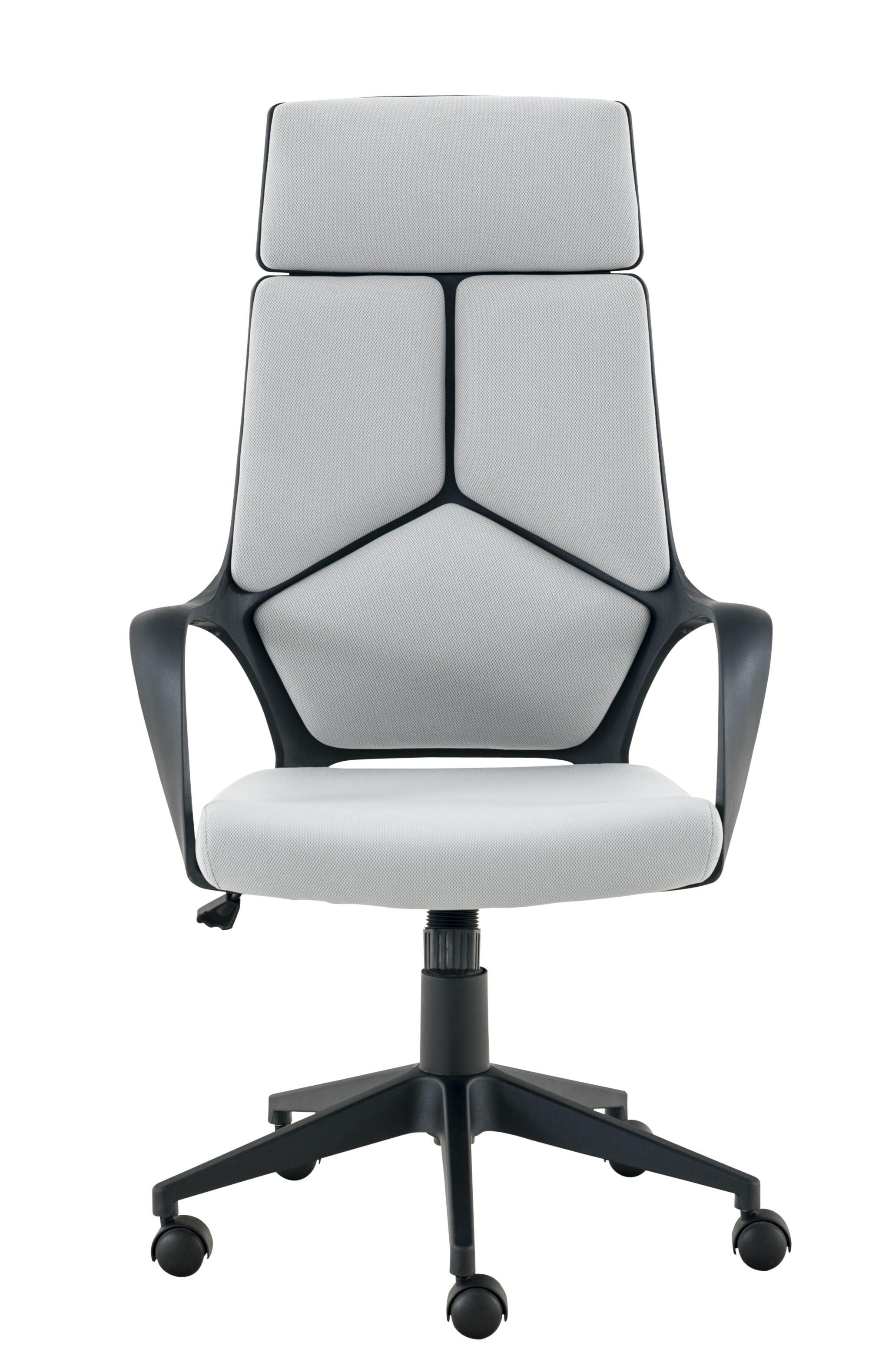 Fauteuil de bureau structure en polypropylene garnissage assise mou