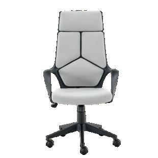 FLY-fauteuil de bureau noir/gris grand modele