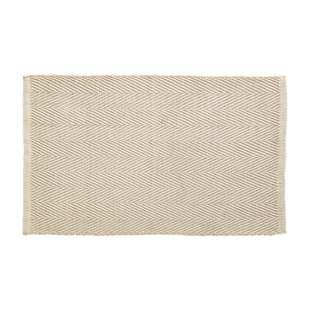 FLY-tapis coton/jute 50x80 naturel