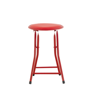 FLY-tabouret pliant rouge