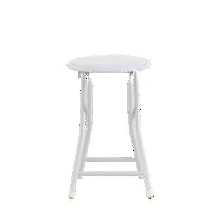 FLY-tabouret pliant blanc
