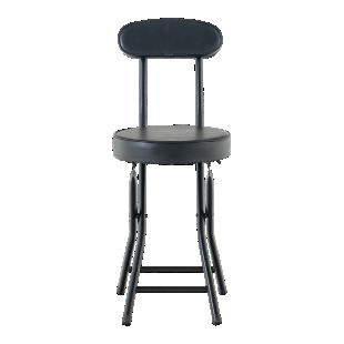 FLY-chaise pliante noire
