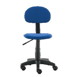 FLY-chaise de bureau bleue