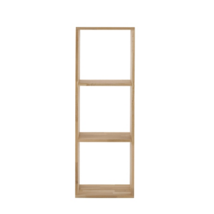 FLY-etagere 1x3 cases chene