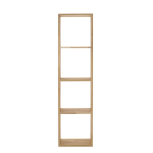 FLY-etagere 1x4 cases chene