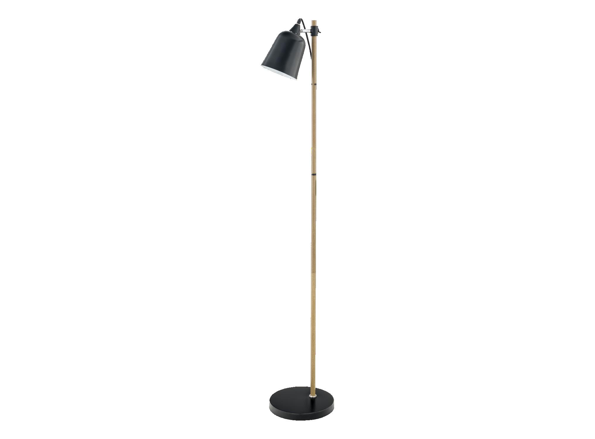Lampadaire hauteur 149cm diametre 15cm abat-jour et socle en acier fi ...