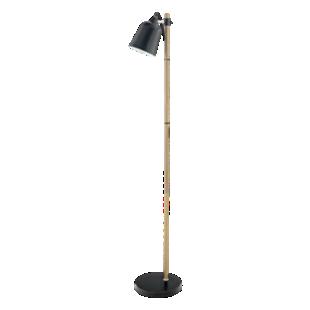 FLY-lampadaire h149 noir