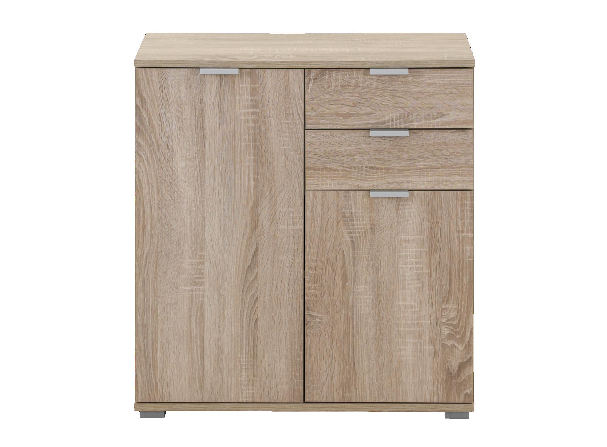 Rangement 2 portes 2 tiroirs chene meuble de rangement for Meuble tiroir rangement papier
