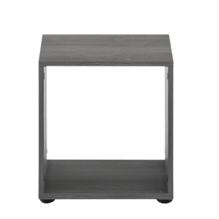 FLY-etagere 1 case chene grise