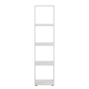 FLY-etagere 1x4 cases blanc