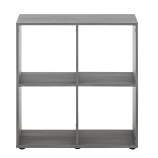 FLY-etagere 2x2 cases chene grise