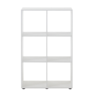 FLY-etagere 2x3 cases blanc