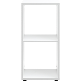 FLY-etagere 1x2 cases blanche