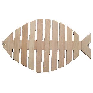FLY-caillebottis poisson 60x40cm
