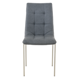 FLY-chaise assise grise
