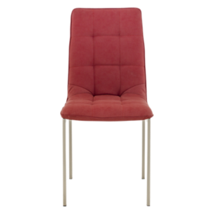 FLY-chaise assise rouge