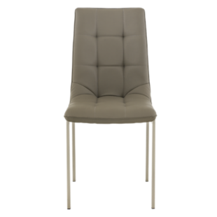 FLY-chaise assise cappuccino