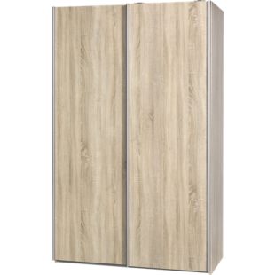 FLY-armoire 2 portes l120 p61 chene naturel