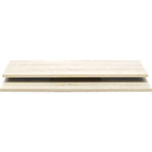 FLY-2 tablettes l58 pour armoire l120/p61 chene nat