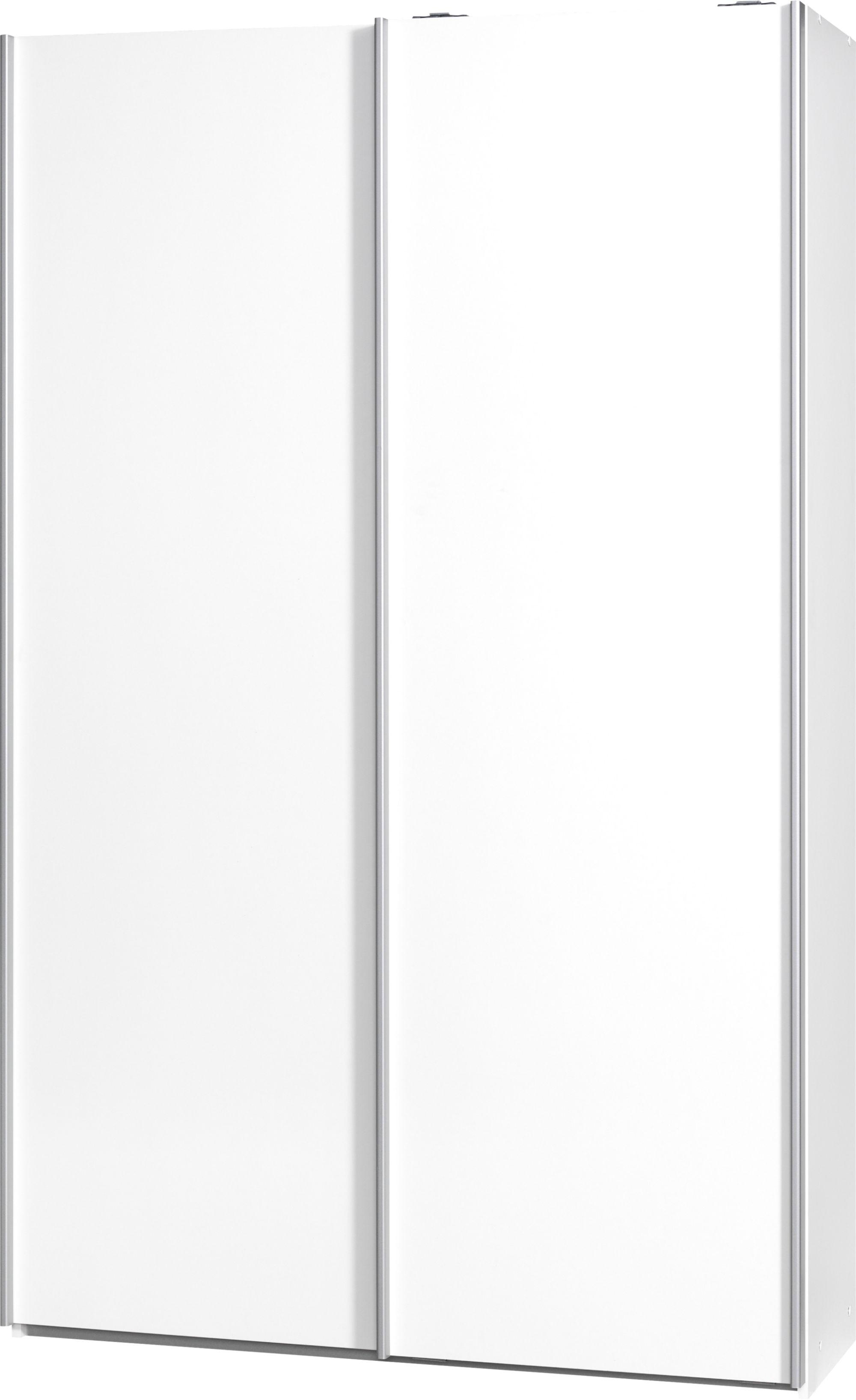 Armoire 2 portes l120 p42 blanc Armoire Chambre Meuble