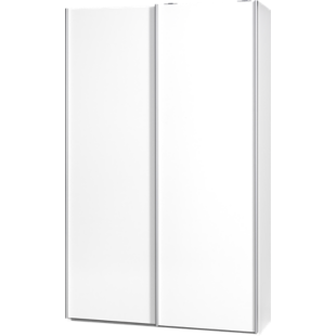 FLY-armoire 2 portes l120 p42 blanc