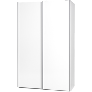FLY-armoire 2 portes l120 p61 blanc